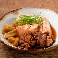 電子レンジで10分!簡単味しみ肉豆腐