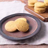 材料4つ 片栗粉で新食感かぼちゃクッキー