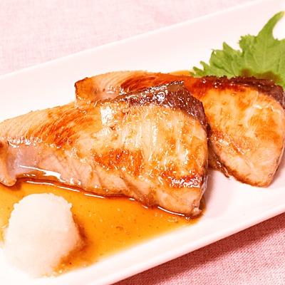 ブリの照焼き柚子胡椒風味
