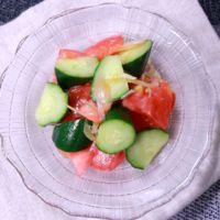 夏野菜のさっぱり漬物