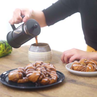 コーヒー香る カフェモカシナモンロール