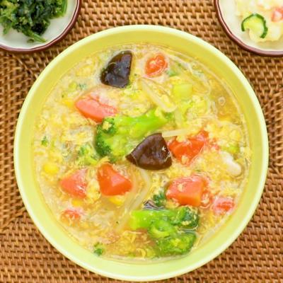 たっぷり野菜のとろとろスープ