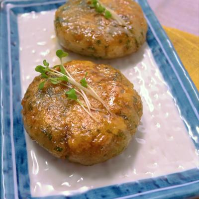 モチモチ れんこんの生姜焼き