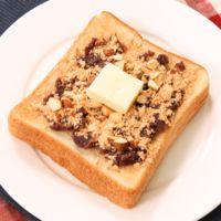 甘〜い朝食 あんバターきなこトースト