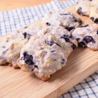 ブルーベリーとナッツのドロップクッキー