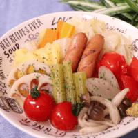 夏もほっこり夏野菜のポトフ