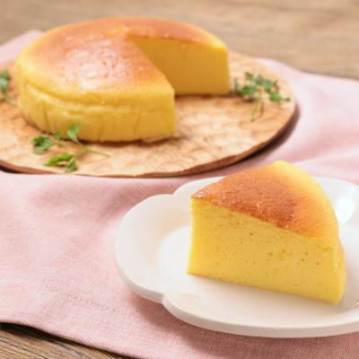ふわふわしっとり スフレチーズケーキ
