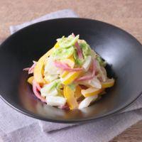 紅生姜と白菜の和え物