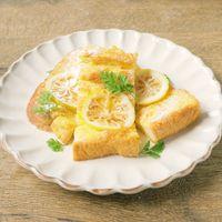 チーズケーキ風 レモンのフレンチトースト