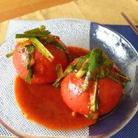 旬を丸ごと!トマトキムチ