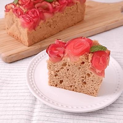 ローズアップルパウンドケーキ