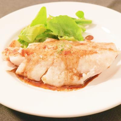 さっぱり鱈のバルサミコソテー