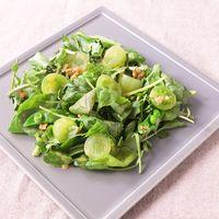 鮮やかグリーンのワントーンサラダ
