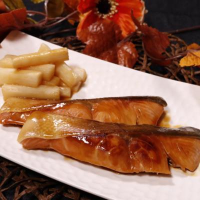 柚子香る!フライパンで鮭の柚庵焼き