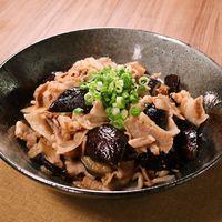 ピリ辛 豚肉とナスのサッパリ炒め