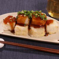 絹ごし豆腐で揚げ出し