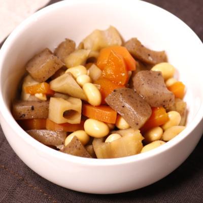 簡単常備菜!野菜たっぷり五目豆