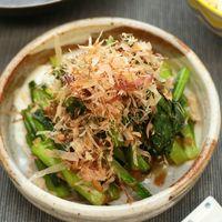 レンジで簡単 小松菜の梅和え