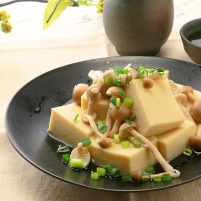 電子レンジで簡単 高野豆腐の煮物