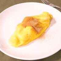 パイナップルのデザートオムレツ
