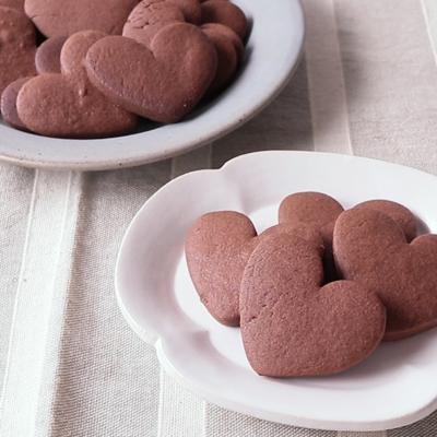 バレンタインにぴったり 基本のココアクッキー