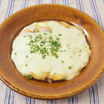 モッツァレラチーズの ポテトアンナ