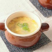 やさしい味わい 中華風コーンスープ