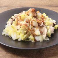 鶏ささみと白菜の温サラダ