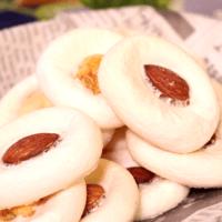 材料2つで簡単!\nマシュマロクッキー