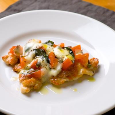 【平シェフ】鶏肉のピザ職人風