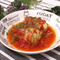 ダッチオーブンで作る ロールキャベツトマト風味