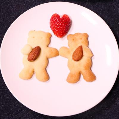 可愛いくまさんクッキー