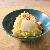 レンジで簡単 白菜の蒸しラーパーツァイ