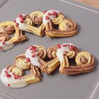 マーブル模様がかわいい 絞り出しクッキー