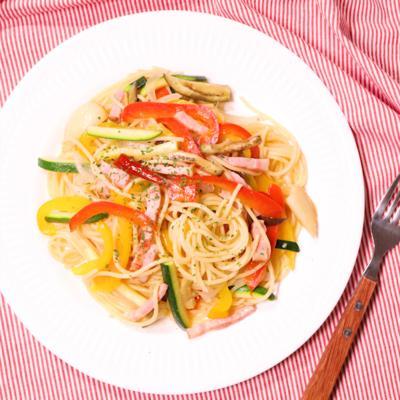 夏野菜たっぷりパスタ オルトラーナ