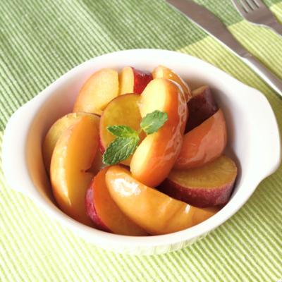 材料3つで幸せスイーツ!さつまいもとりんごのジュース煮