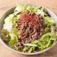 韓国風そぼろのチョレギサラダ