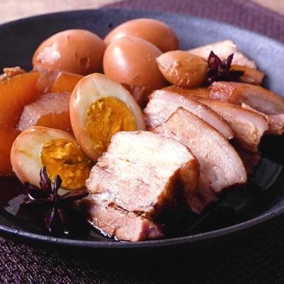 五香粉香る 台湾風豚の角煮
