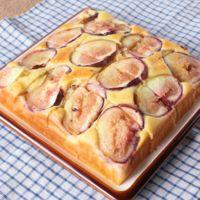 イチジクのヨーグルトケーキ
