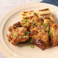 鶏もも肉の味噌漬けオーブン焼き