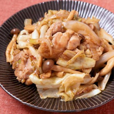 鶏と野菜の四川風炒め