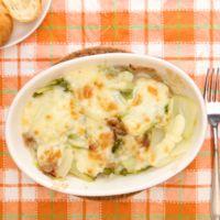 豚バラ肉と白菜のチーズ焼き