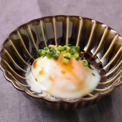 レンジで簡単 温泉卵