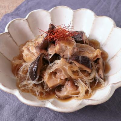 鶏もも肉と椎茸のうま煮
