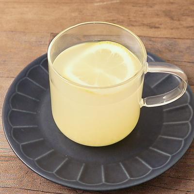 レモン香る 生姜湯の作り方