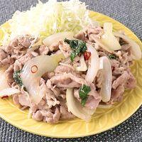 ニンニクバター風味 豚の生姜焼き