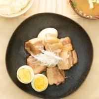 シンプルが美味しい 塩豚角煮