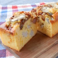 レンコンとチーズのケーク・サレ