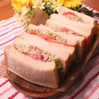 ザクザク感が楽しい!キャベツとツナのサンドイッチ