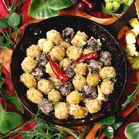 スキレット鍋でおしゃれに!オリーブのアーリオオーリオ